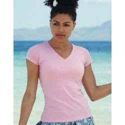 T-Shirt bedrucken Damen V Ausschnitt