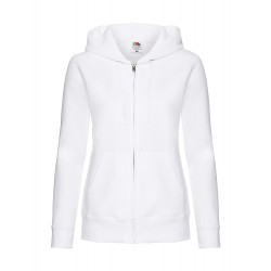 Frauen Hoodie bedrucken Premium Hooded Sweat Jacket Lady-Fit