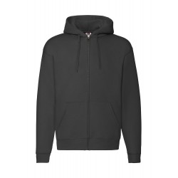 Hoodie bedrucken Premium Hooded Zip Sweat