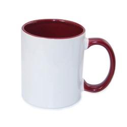 Tasse bedrucken Two Tones Schwarz