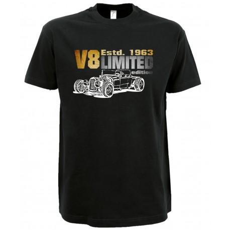 Fan-T-Shirt V8 HotRod