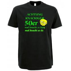 Geburtstags T-Shirt 50 Jahre