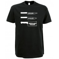 Grillen, Chillen, Bierchen killen T-Shirt