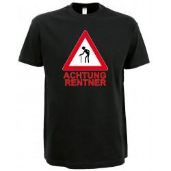 Achtung Rentner T-Shirt