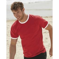 T-Shirt bedrucken Ringer T
