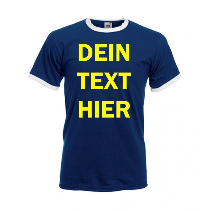 Erstelle und bedrucke hier dein eigenes Ringer Shirt - Fussballshirt. 13adac2ae6