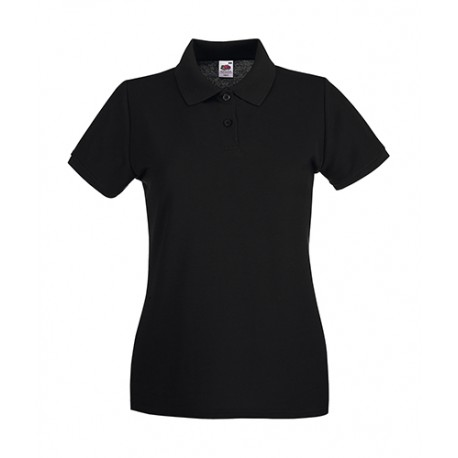 Premium Polo Lady-Fit bedrucken