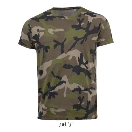 Camouflage T-Shirt Herren bedrucken