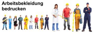 Arbeitskleidung bedrucken lassen online
